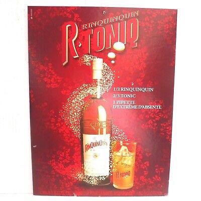 Grande Plaque Publicité Carton RHUM CORUBA sur carton Reedition