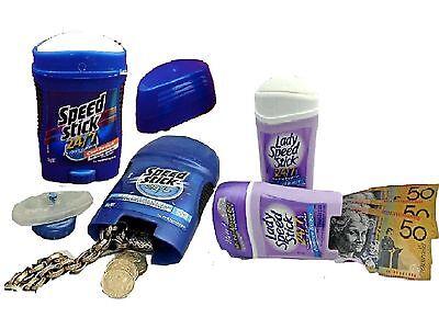 Speed Stick Secret Stash Can  Deodorant Diversion Safe Hidden Compartment Box