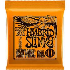 Ernie Ball Hybrid Slinky 2222 Electric Guitar Strings 9 - 46