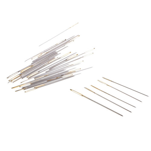 30Pcs Sewing Needles Large Eye Hand Blunt Needle Embroidery Darning Tapestry