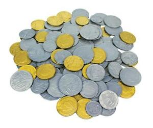 114 X Australian Play Money Coins Maths Teacher Resource Realistic Kids Toy
