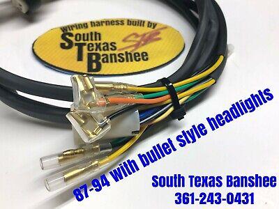 87-94 Yamaha Banshee Wiring harness NO TORS,NO PARK BRAKE