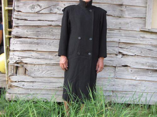 Manteau mélangée Worthington noir en long pour 12 femmes laine taille qwaU1pq