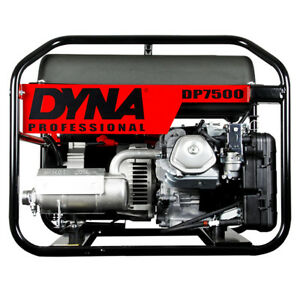 Image Is Loading Winco Dp7500 Dyna Series Portable Generator 7500