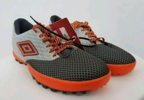 Umbro Turf 3.0 orange//gris Football Chaussures Taille 6 NEUF *