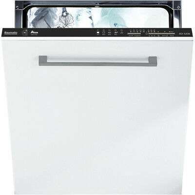 Baumatic BDI1L63B A+ Fully Integrated Dishwasher Full Size 60cm 16 Place Black