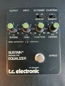 TC Electronic Sustain+ Parametric Equalizer (Recapped by Eric Johnson's Tech)