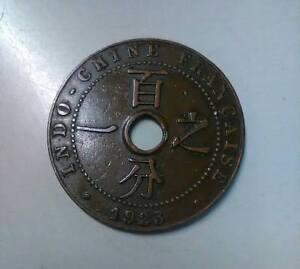 INDO-CHINE FRANCAISE un centime de piastre 1923 RARE - Italia - INDO-CHINE FRANCAISE un centime de piastre 1923 RARE - Italia