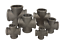 """1//2/"""" - 2/"""" Details about  /Black Malleable Iron Crosses 15mm 50mm"""