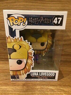 MOVIES Luna Lovegood Lion Head Harry Potter S4 FUNKO 14944 POP