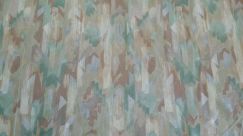 """45/"""" WIDE 100/% Polyester fabric home decor crafts Sage Southwestern Print"""