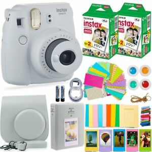 FujiFilm-Instax-Mini-9-Instant-Camera-40-Fuji-Film-Large-Accessory-Kit