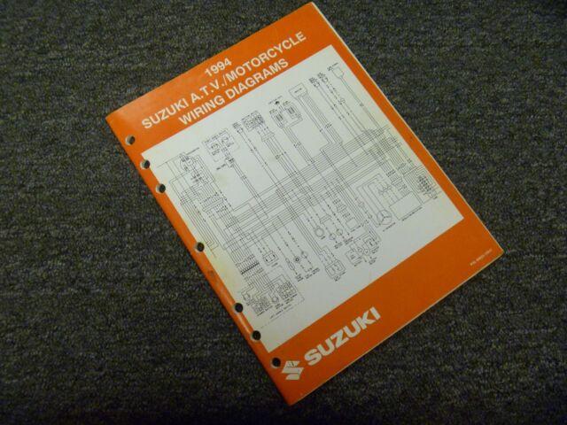 1994 Suzuki Savage Intruder Motorcycle Electrical Wiring
