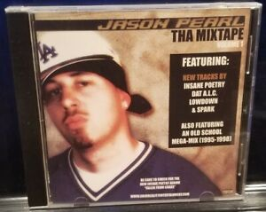 Jason Pearl - Tha Mixtape: vol. 1 CD 2005 insane poetry cyco kgp horrorcore rap