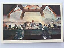 The Sacrament of the Last Supper Sacramental feast Religious card Dali A12