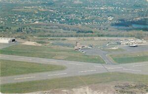 Worcester, MA - Municipal Airport - Bird's Eye View of Surrounding Area