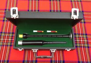 Fringant Scottish Highland Rosewood Silver Mounts Practice Chanter + Transporter Box+3 Reeds-afficher Le Titre D'origine Acheter Maintenant
