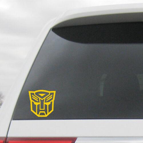 Autobot Symbol Logo  Bumblebee Decals Transformers Optimus Prime 2 Pk
