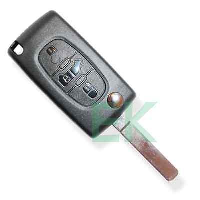 FOR PEUGEOT PARTNER EXPERT REMOTE KEY FOB CASE HQ//VAN SIGN//HU83 BLADE//PLS READ