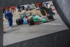 Alessandro Nannini Colour Photo Benetton B188/B189 1989 F1/Formula One Souvenir
