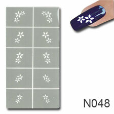 NAILART NAGELLACK SCHABLONE NAIL ART #48