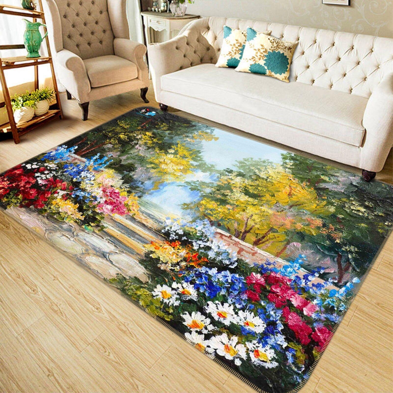 3D Painting Natural 78 Non Slip Rug Mat Room Mat Quality Elegant Photo Carpet US
