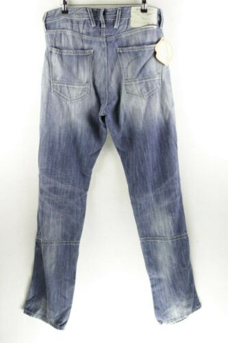 Zighey 354 Slim P80 Replay 830 971 Ma W32 Button Jeans Mens L32 000 dritto Fit XEwxpEz6q