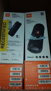 JBL Flip 4 Waterproof Portable Bluetooth Speaker - Black *Authorized Dealer*