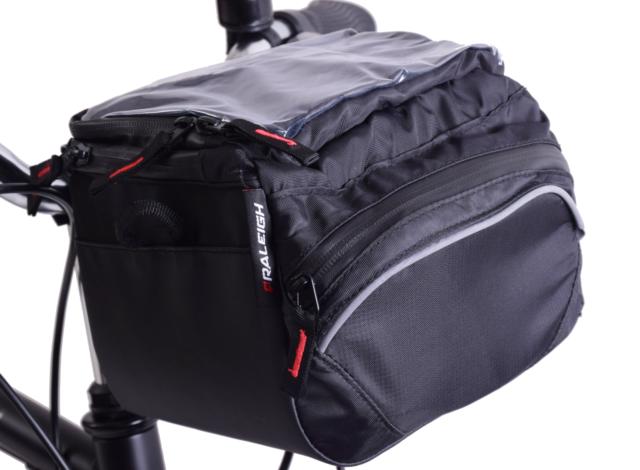 d31ae574f56 Raleigh Bike Small Handlebar Front Pannier Q R 4.2L Shoulder Storage Bag    Cover
