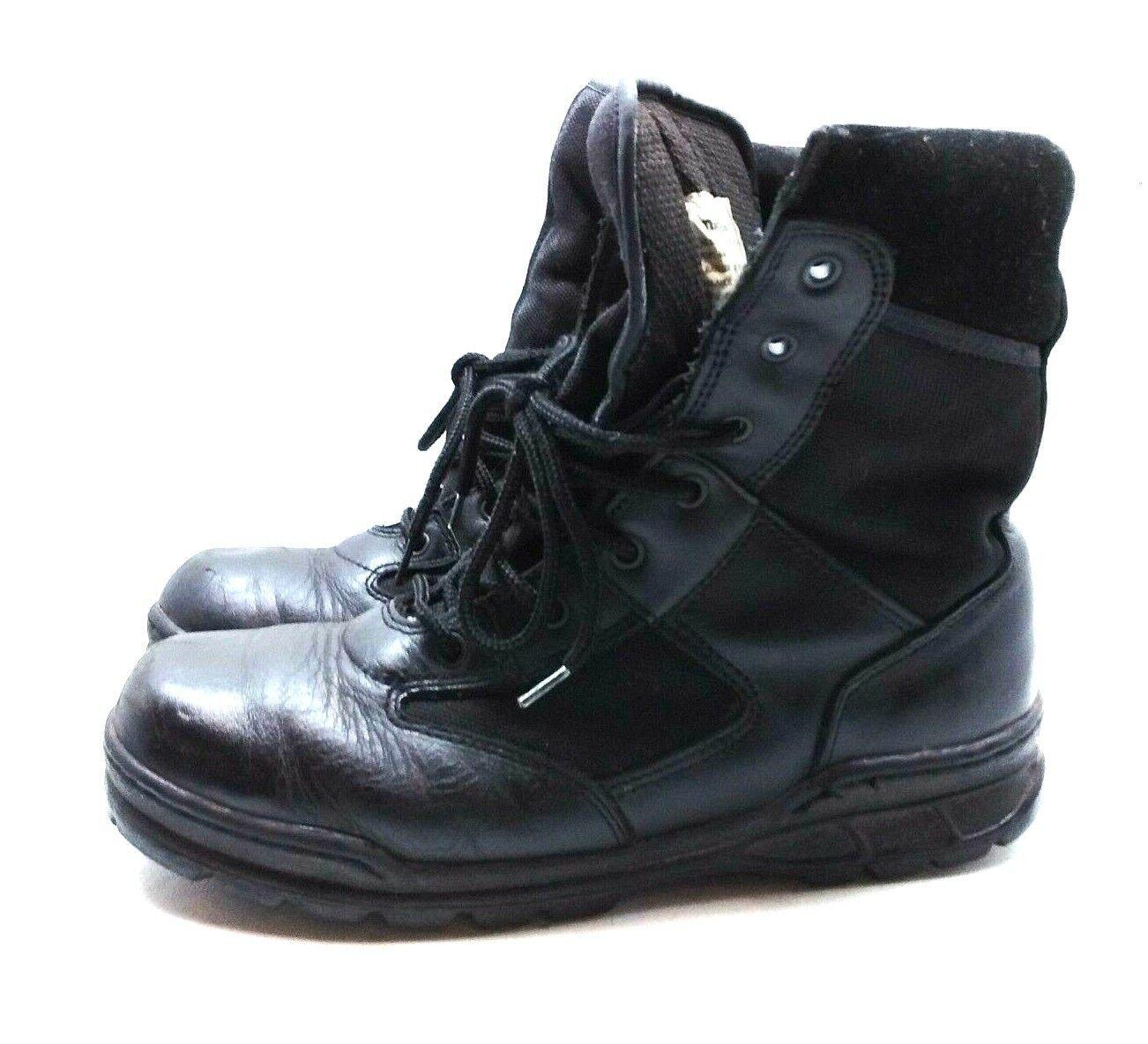 edizione limitata Thorogood nero nero nero Leather Tactical Ankle avvio Lace Up Military Duty Uomo scarpe 9.5M  ampia selezione