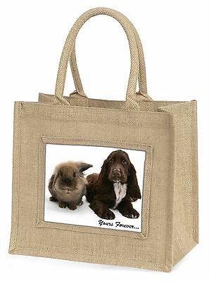 Tiere dir für immer Stimmung Große Natürliche Jute-einkaufstasche Ch,