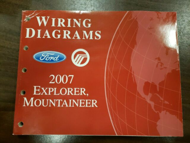 2007 Ford Explorer Mercury Mountaineer Wiring Diagrams