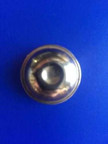 "Tricycle 7//16"" Chrome Button Style Metal End Cap Vintage NOS"