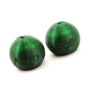 Paragliding-brake-handles-balls-Acro-Balls-NO-Swivel-green