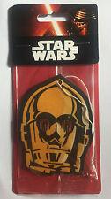 Star Wars Official Disney Car Home Air Freshener Ice Cool Freshner Scent - C3PO