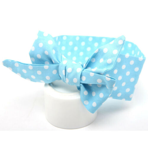 Baby Girls Kids Toddler Large Bow Knot Hairband Headband Stretch Cloth Head Wrap