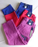 Bandolino Jeans Womens Slim Fit Capri Pants Tatyana Multi Colors & Sizes