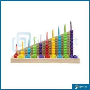 LARGE-KIDS-WOODEN-TOYS-CHILD-ABACUS-COUNTING-BEADS-MATHS-EDUCATIONAL-NUMBERS-KID