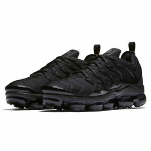 wide varieties in stock good selling Details about Nike Air VaporMax Plus size 9. Triple Black. 924453-004. 97  98 95 1 90 max