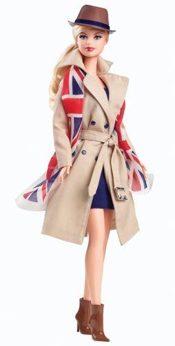 Barbie Dolls of The World United Kingdom Doll ~ NEW ~ Great Britain England