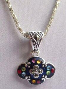 collier-bijou-chaine-pendentif-argente-email-bleu-cristaux-couleur-diverses-2893