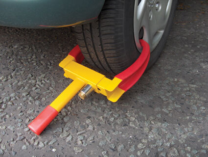 Car Can /& Trailer Security Heavy Duty Claw Wheel Clamp Lock /& Keys New Caravan