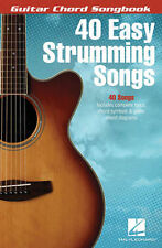 40 Easy Strumming Songs Guitar Chord Songbook Book NEW!