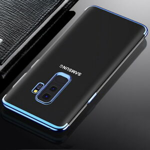 For-Samsung-S9-A8-Plus-2018-S8-Luxury-Slim-Clear-Rubber-Soft-TPU-Back-Case-Cover