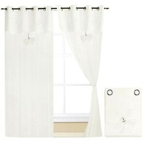 Tende-finestre-portafinestra-coppia-2pz-piu-misure-tessuto-lino-casa-shabby-chic