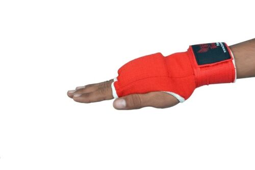 BOOM Boxing Inner Gloves Hand Wraps Bandages MMA Punch Bag Glove Muay Thai