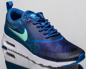 womens nike air max thea stampa Nike Wmns Air Max Thea Stampa Donna Lifestyle Sneakers Nuovo Blu ...