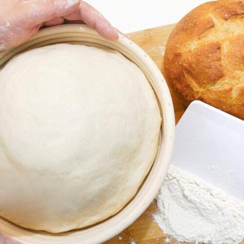 Round Oval Bread Proofing Basket Proving Rattan Dough Handmade Banneton Baguette
