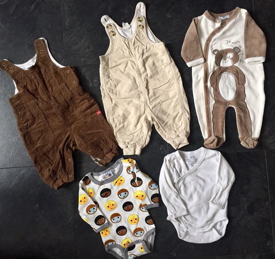 Blandet tøj, Smækbukser, Body