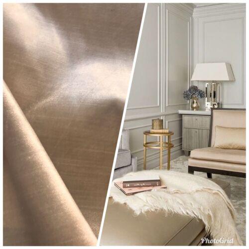Beige NEW Designer Made In Belgium Upholstery Velvet Fabric